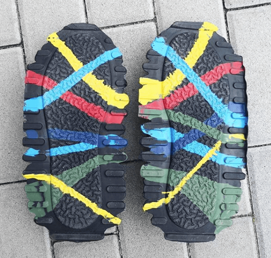 what is used to construct shoe outsoles