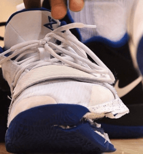 NOT A SHOE EXPLOSION! Zion Williamson and the broken Nike PG 2.5