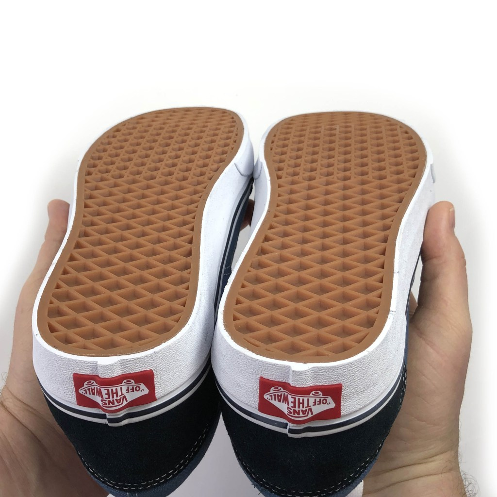 Outsole quality is okay for authentic vans