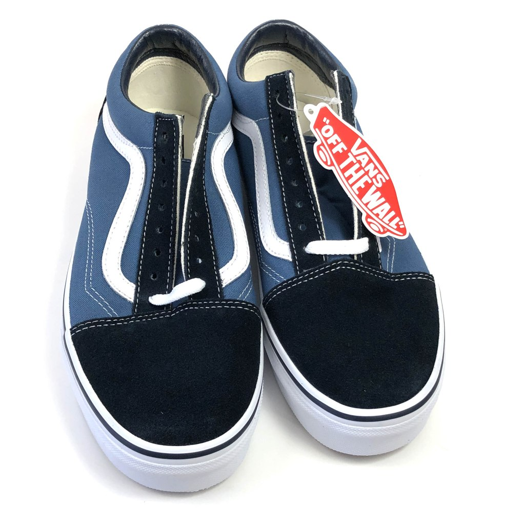 Quality inspection of authentic Vans Old Skool
