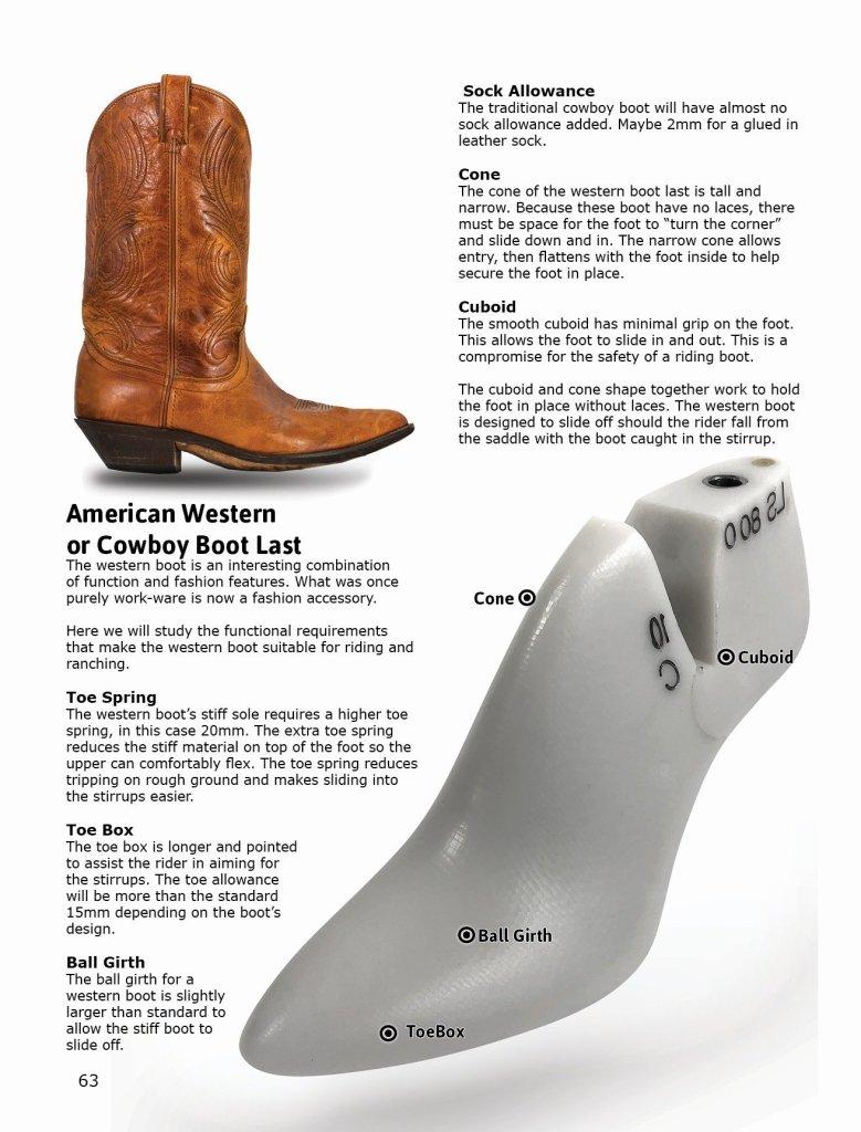 Cowboy boot last