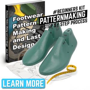 footwear pattern making step by step