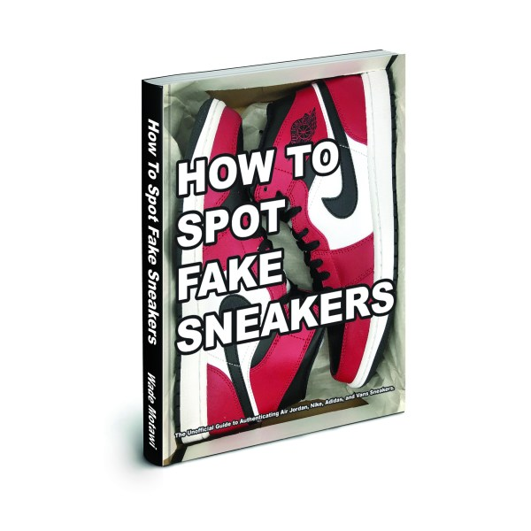 Complete sneaker authentication details uncovered