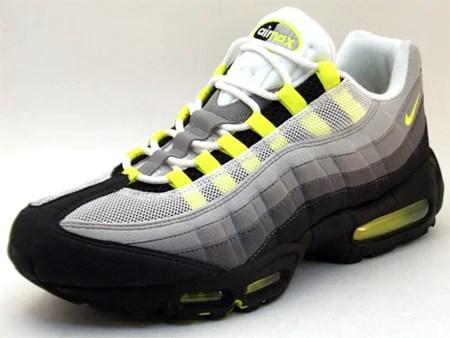Nike Air Max 95 Classic LE - Grey / Neon Yellow