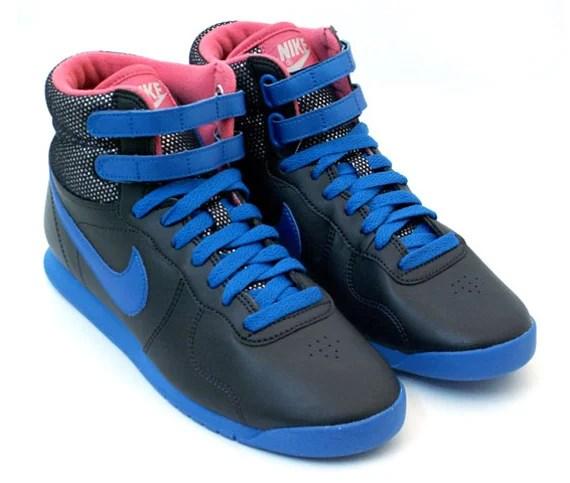 Nike Aerofit High Women's - Black / Blue - Pink