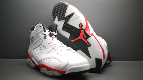 Detailed Look: Air Jordan VI (6) - Infrared Package
