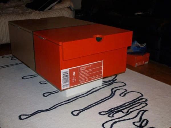 Nike Shoe Box Coffee Table SneakerFiles