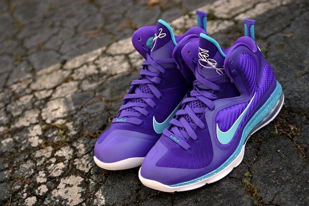 Nike LeBron 9 'Summit Lake Hornets' - High Quality Look | SneakerFiles