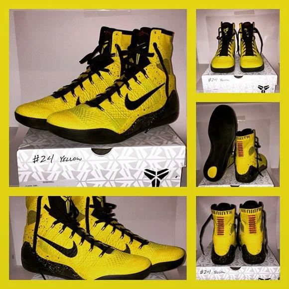 Nike Kobe 9 Elite Bruce Lee Gift From Kobe to Terrell Owens