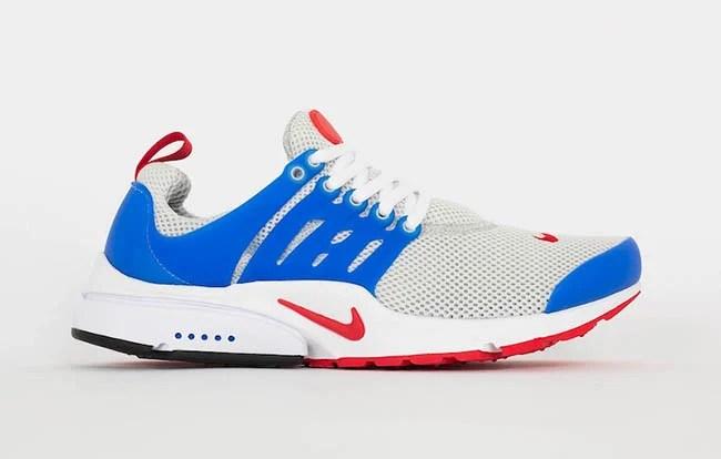 Nike Air Presto Essential Dusty Grey Blue Red