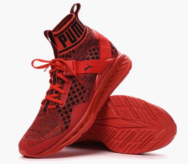Puma Ignite EvoKnit Red SneakerFiles