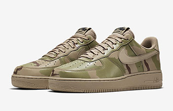 Nike Air Force 1 Low Desert Camo