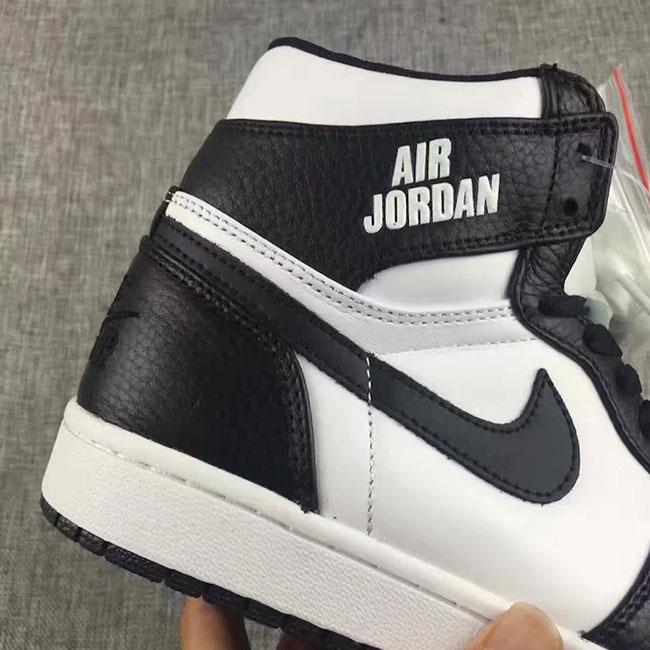 Air Jordan 1 Rare Air Black White Release