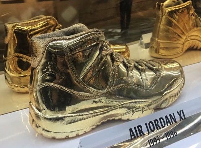 Air Jordan 11 Gold