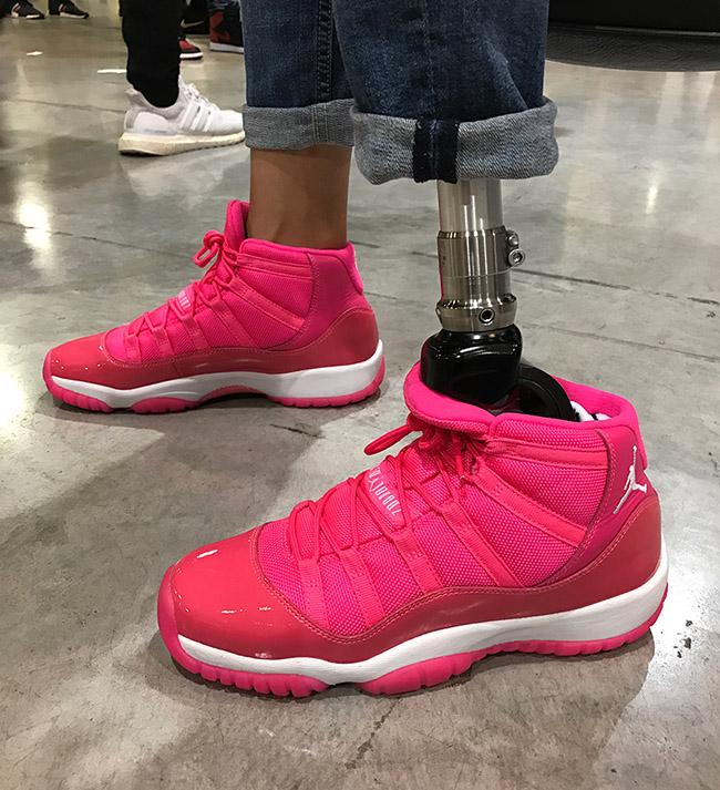 Air Jordan 11 Pink White PE