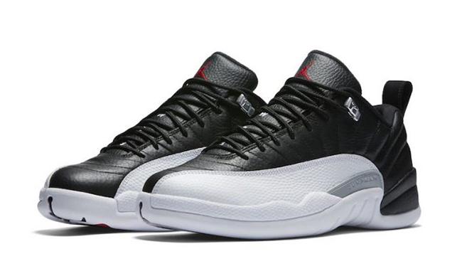 Air Jordan 12 Low Playoffs February 2017