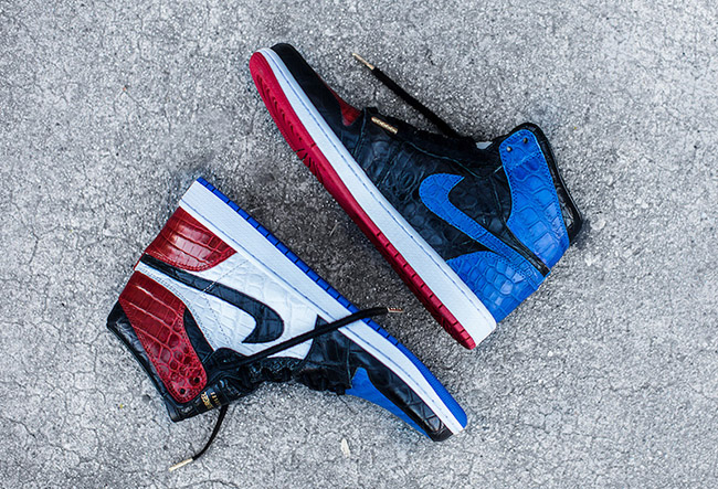 The Shoe Surgeon Air Jordan 1 Top 3 Custom