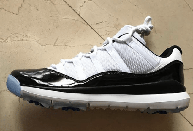 Dez Bryant Air Jordan 11 Concord Golf Shoes
