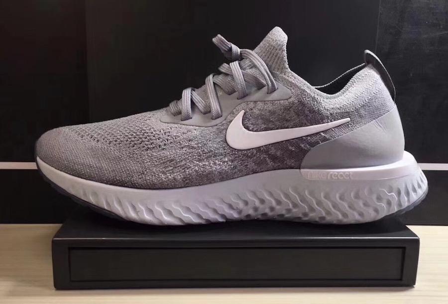 Nike Epic React Flyknit Grey Release Info SneakerFiles