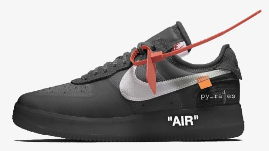 Off-White Nike Air Force 1 Low Black AO4606-001