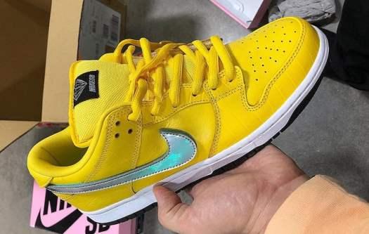 Diamond Supply Co Nike SB Dunk Low Yellow