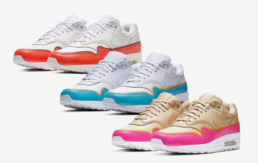 Nike Air Max 1 Colorful Mudguard Pack Release Date