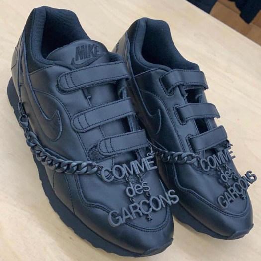 Comme des Garcons Nike Velcro Release Date