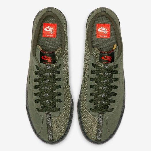 Ishod Wair Nike SB Bruin ISO Olive CN8827-300 Release Date Info