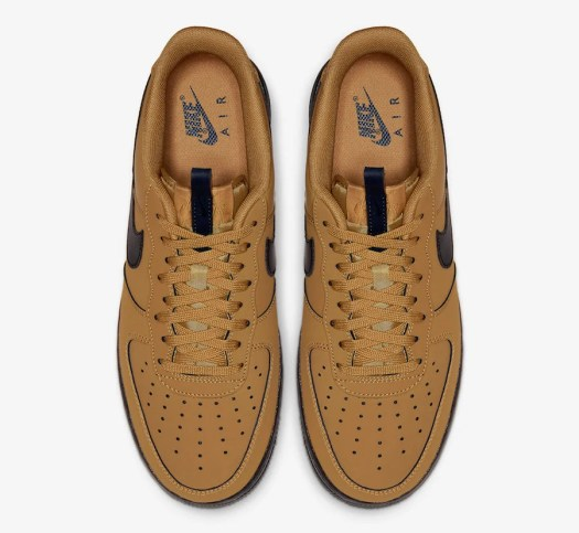 Nike Air Force 1 Low Wheat Black BQ4326-700 Release Date Info