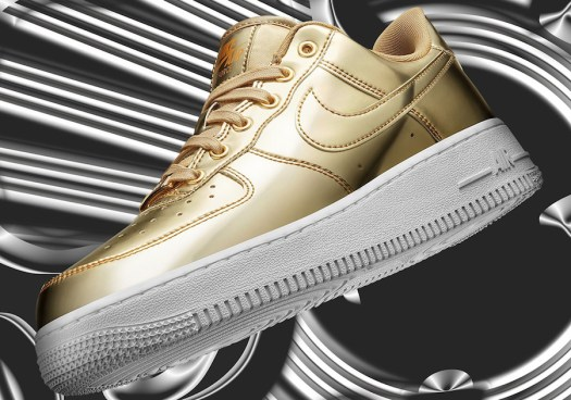 Nike Air Force 1 Metallic Gold Singles Day Release Date Info
