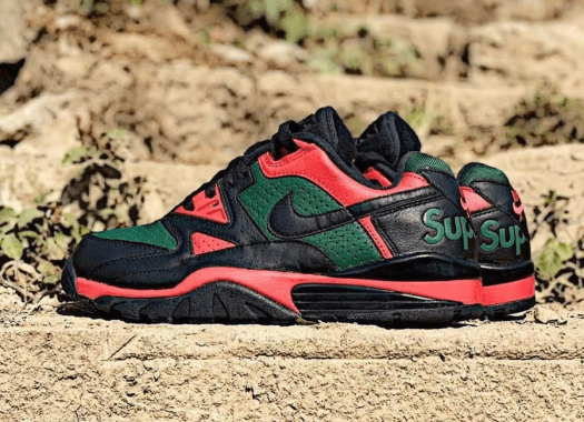 Supreme Nike Air Cross Trainer 3 Low Black Gorge Green University Red Release Date Info