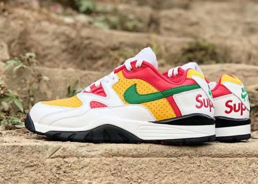Supreme Nike Air Cross Trainer 3 Low White Pine Green University Gold Release Date