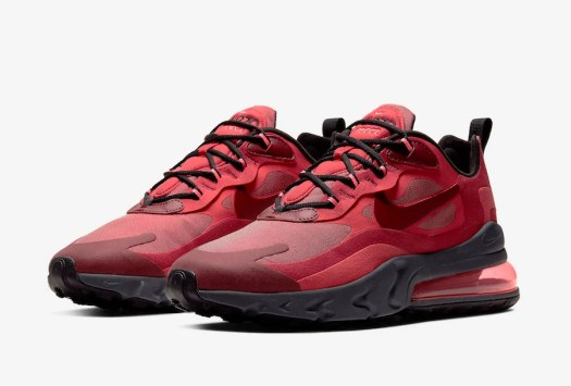 Nike Air Max 270 React Red Grey Black CI3866-600 Release Date Info