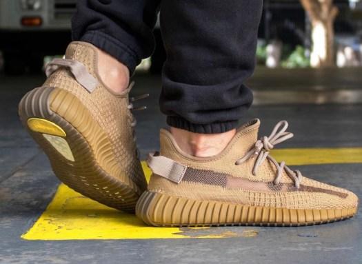 adidas Yeezy Boost 350 V2 Marsh FX9033 On Feet