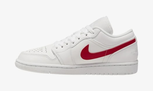 Air Jordan 1 Low White University Red AO9944-161 Release Date Info