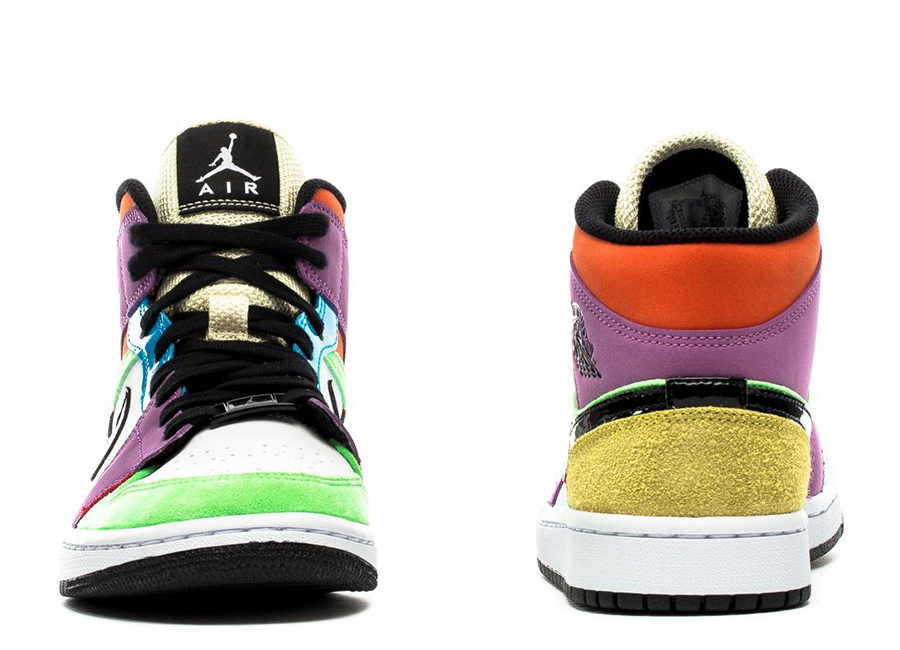 Air Jordan 1 Mid Lightbulb Easter CW1140-100 Release Date