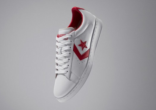 Converse Pro Leather Low White Red All-Star Release Date Info