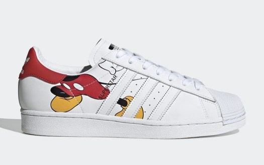 Mickey Mouse adidas Superstar FW2901 Release Date Info