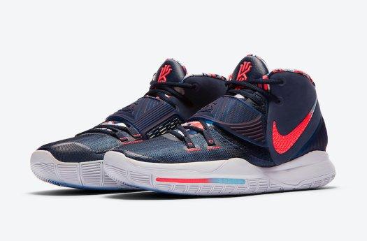 Nike Kyrie 6 USA BQ4630-402 Release Date Info