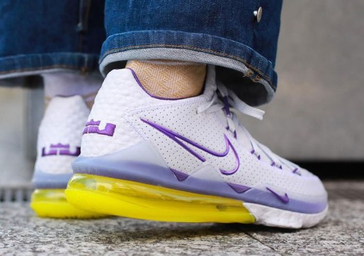 Nike LeBron 17 Low Lakers Home CD5007-102 Release Date Info