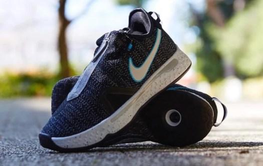 Nike PG 4 Heather Black Blue CD5082-004 Release Date Info