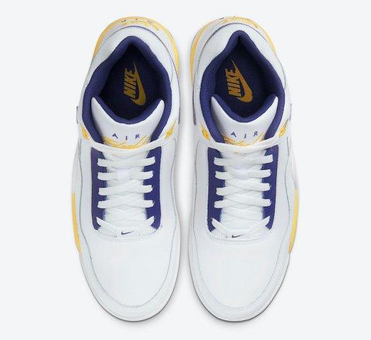 Nike Flight Legacy White University Gold Regency Purple BQ4212-102 Release Date Info