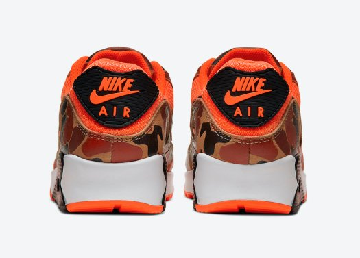 Nike Air Max 90 Orange Camo CW4039-800 Release Date