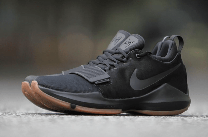 The Nike PG1 Black & Gum Releases Just In Time For The Fall!