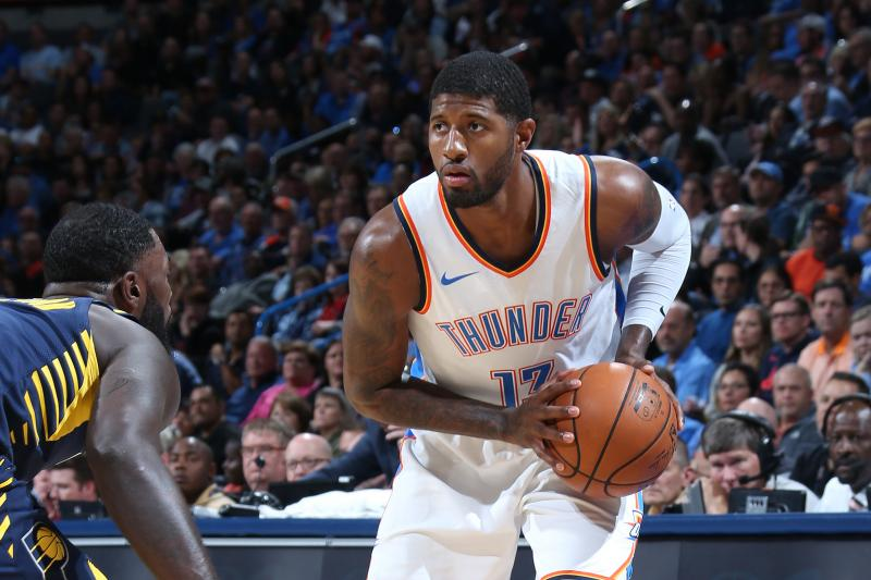 The Thunder Pick Up The Win & Paul George Against His Former Pacers (114-96)