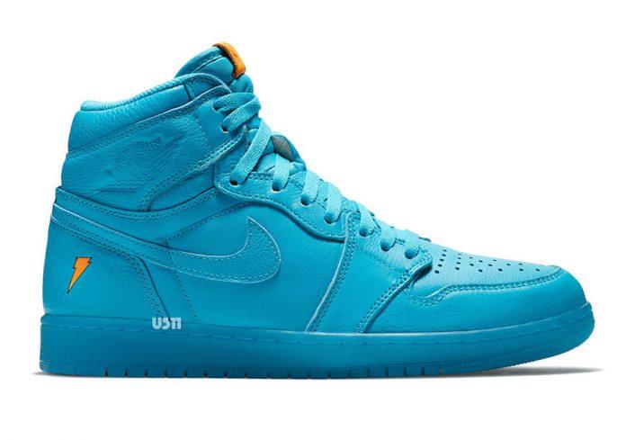 Jordan Brand Adds The Air Jordan 1 Gatorade Blue Lagoon To Decembers Gatorade Collection!
