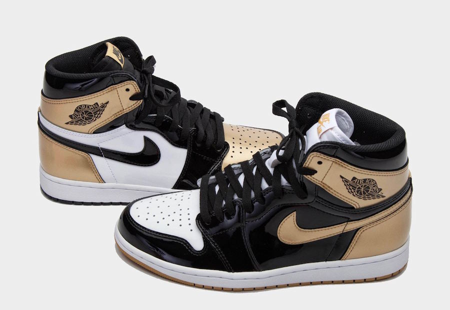 The Air Jordan 1 Retro High OG NRG Gold Top 3 Will Be Releasing During The 2018 NBA All-Star Weekend!