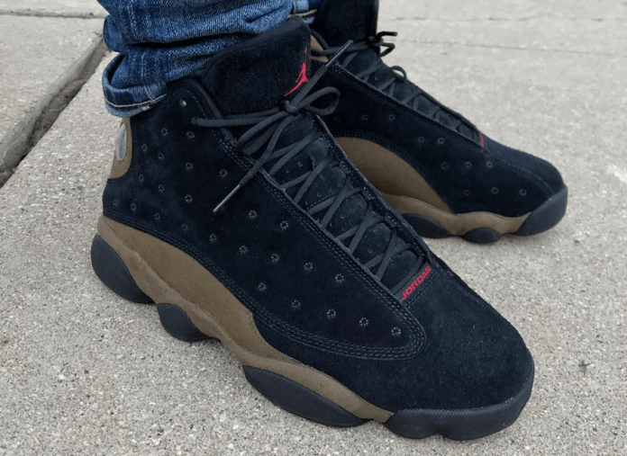 Detailed Look At The 2018 Air Jordan 13 Olive & Release Date!