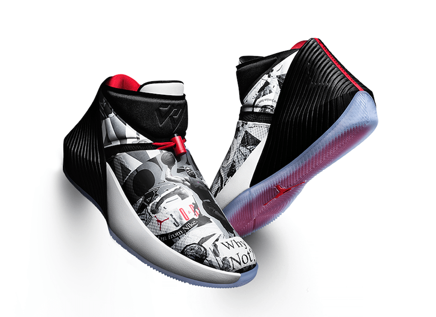 finest selection c021b 56210 A Look At The First Two Colorways Of Russell Westbrooks First Signature  Shoe The Air Jordan