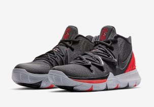 The Nike Kyrie 5 University Red & Black Release Date!